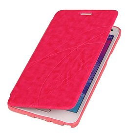 Easy Booktype hoesje voor Galaxy Note 3 Neo Roze