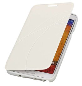 Easy Booktype hoesje voor Galaxy Grand 2 SM-G7106 Wit