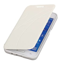 Easy Booktype hoesje voor Huawei Ascend G610 Wit