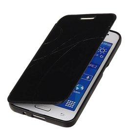 Easy Booktype hoesje voor Huawei Ascend G610 Zwart