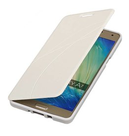 Easy Booktype hoesje voor Galaxy A7 Wit
