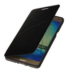 Easy Booktype hoesje voor Galaxy A7 Zwart