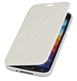 Easy Booktype hoesje voor Galaxy A3 Wit