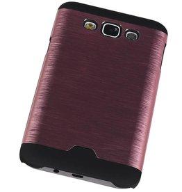 Lichte Aluminium Hardcase voor Galaxy J5 Roze
