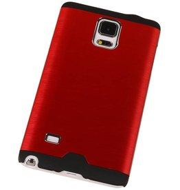 Lichte Aluminium Hardcase voor Galaxy Note 3 Rood