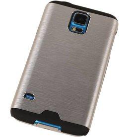 Lichte Aluminium Hardcase voor Galaxy S5 G900f Zilver