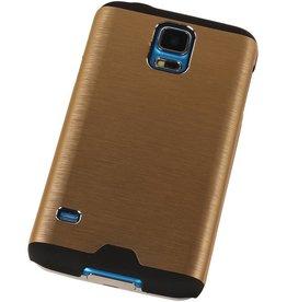 Lichte Aluminium Hardcase voor Galaxy S5 G900f Goud