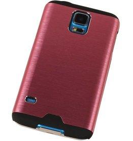 Lichte Aluminium Hardcase voor Galaxy S5 G900f Roze