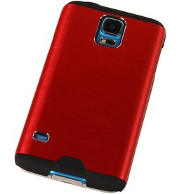 Lichte Aluminium Hardcase voor Galaxy A5 Rood