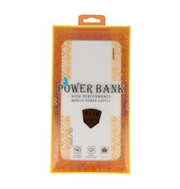 Sunpin Power Bank F110 Capacity: 3.7V / 11000mAh Wit/Grijs