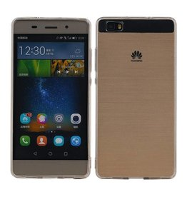 Transparent TPU Hoesje voor Huawei Ascend P8 Lite Ultra-thin