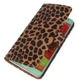 Luipaard Bookstyle Case Hoes voor Galaxy Note 3 Neo Chita