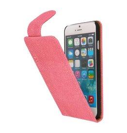 Devil Classic Flipcase Hoes voor iPhone 6 Roze