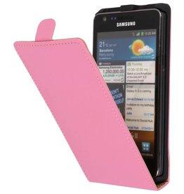 Flipcase Hoes voor Galaxy S2 i9100 Roze