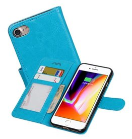 iPhone 7 / 8 Portemonnee hoesje booktype wallet case Turquoise