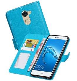 Huawei Y7 / Y7 Prime Portemonnee booktype wallet Turquiose