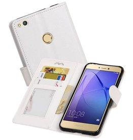 Huawei P8 Lite 2017 Portemonnee hoesje booktype Wit