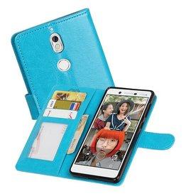 Nokia 7 Portemonnee hoesje booktype wallet case Turquoise