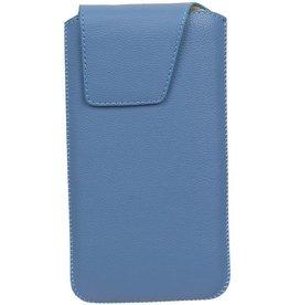 Smartphone Pouch voor iPhone 6 / 6S Blauw