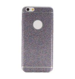 Bling TPU Hoesje Case voor iPhone 6 / 6s Paars