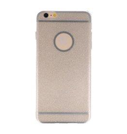 Bling TPU Hoesje Case voor iPhone 6 / 6s Plus Zilver