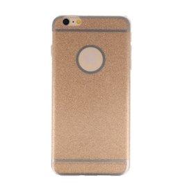 Bling TPU Hoesje Case voor iPhone 6 / 6s Plus Goud