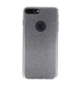 Bling TPU Hoesje Case voor iPhone 7 / 8 Plus Zilver