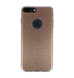 Bling TPU Hoesje Case voor iPhone 7 / 8 Plus Goud