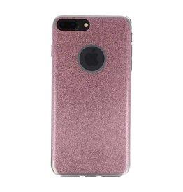 Bling TPU Hoesje Case voor iPhone 7 / 8 Plus Roze