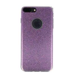 Bling TPU Hoesje Case voor iPhone 7 / 8 Plus Hotpink