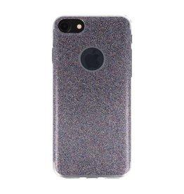 Bling TPU Hoesje Case voor iPhone 7 / 8 Paars