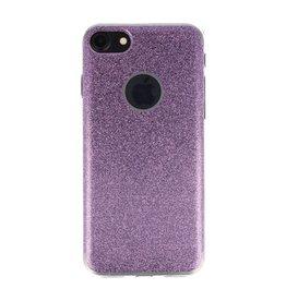 Bling TPU Hoesje Case voor iPhone 7 / 8 Hotpink