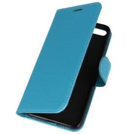 Wallet Cases Hoesje voor Huawei Honor 7X Turquoise