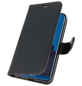 Wallet Cases Hoesje voor Huawei Honor 9 Lite Zwart