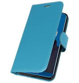 Wallet Cases Hoesje voor Huawei Honor 9 Lite Turquoise