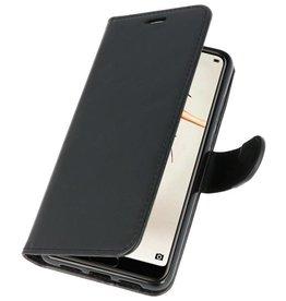 Wallet Cases Hoesje voor Huawei P20 Zwart