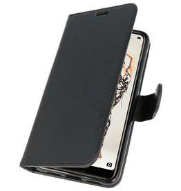 Wallet Cases Hoesje voor Huawei P20 Pro Zwart