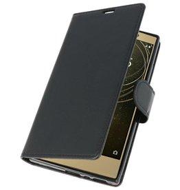 Wallet Cases Hoesje voor Xperia L2 Zwart