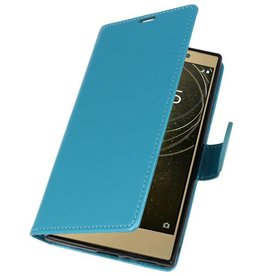Wallet Cases Hoesje voor Xperia L2 Turquoise