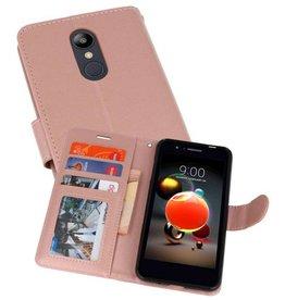 Wallet Cases Hoesje voor LG K8 2018 Roze