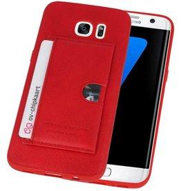 Hardcase Hoesje voor Samsung Galaxy S7 Edge Rood