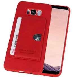 Hardcase Hoesje voor Samsung Galaxy S8 Plus Rood