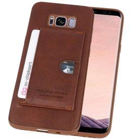 Hardcase Hoesje voor Samsung Galaxy S8 Plus Bruin