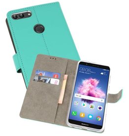 Bookstyle Wallet Cases Hoes voor Huawei P Smart Groen