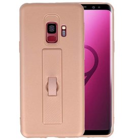 Carbon series hoesje Samsung Galaxy S9 Roze