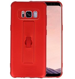 Carbon series hoesje Samsung Galaxy S8 Rood