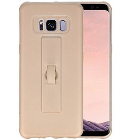Carbon series hoesje Samsung Galaxy S8 Goud