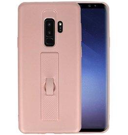 Carbon series hoesje Samsung Galaxy S9 Plus Roze