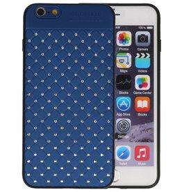 Witte Chique Hard Cases voor iPhone 6 Plus Blauw