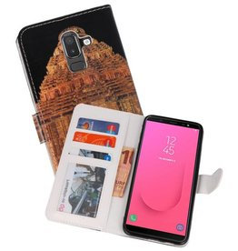 Temple  Bookstyle Hoesje Samsung Galaxy J8